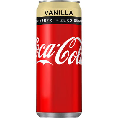 Coca Cola Zero Vanilla, 330 ml