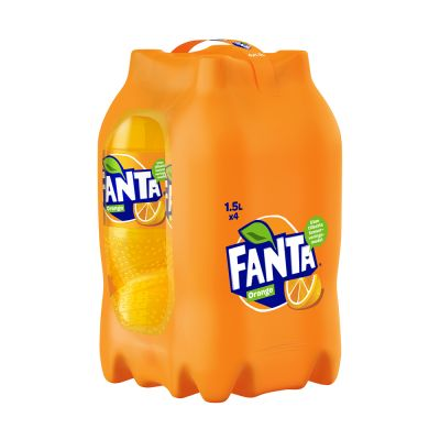 Fanta Orange, 1500 ml x4