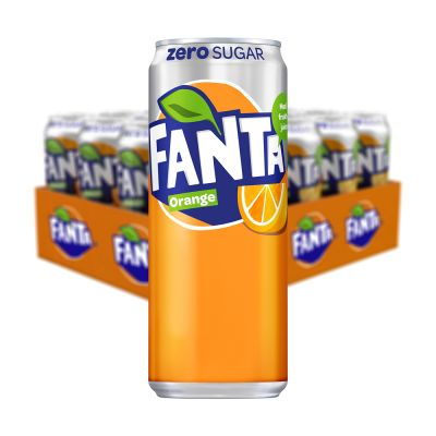 Fanta Zero Orange, 20x 330 ml