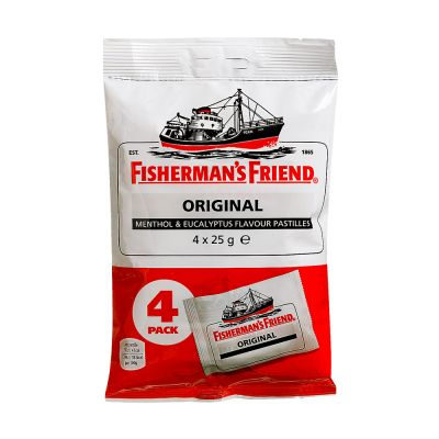 Fisherman's Friend Original, 25 g x4