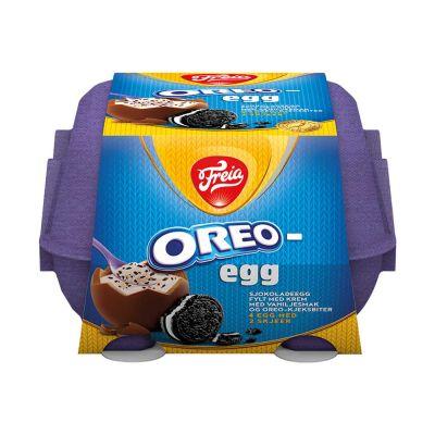 Freia Oreo Egg 4-pack, 128 g