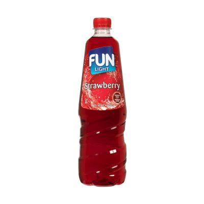 Fun Light Strawberry, 1L