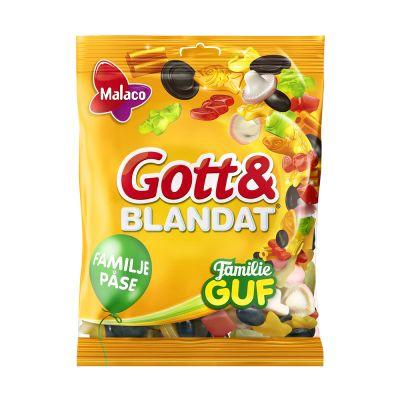 Malaco Gott & Blandat Familie Guf, 500 g