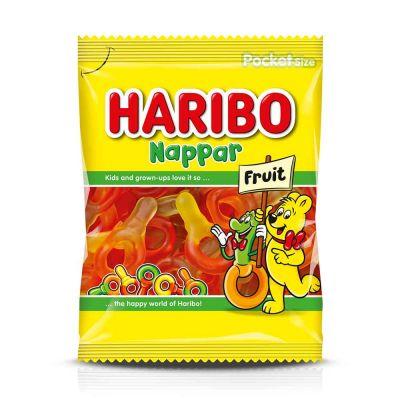 Haribo Nappar Frukt, 80 g