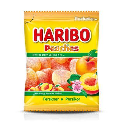 Haribo Persikor, 80 g