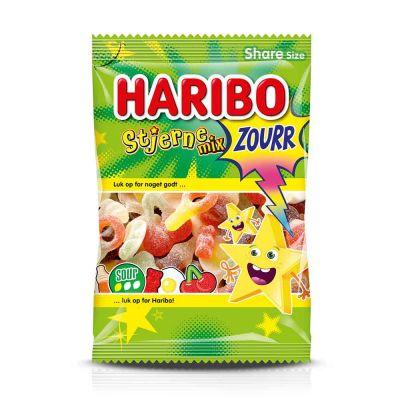 Haribo Stjerne Mix Sour, 375 g