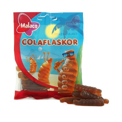 Malaco Colaflaskor, 80 g