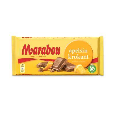 Marabou Apelsinkrokant, 200 g