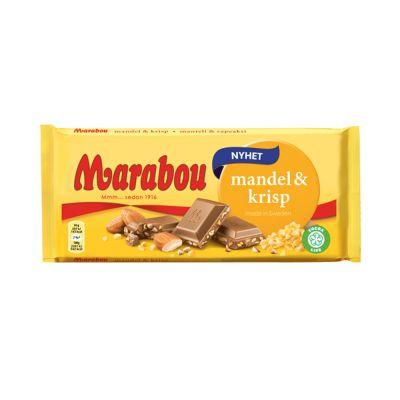 Marabou Mandel & Krisp, 185 g