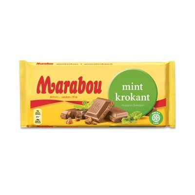 Marabou Mintkrokant, 200 g