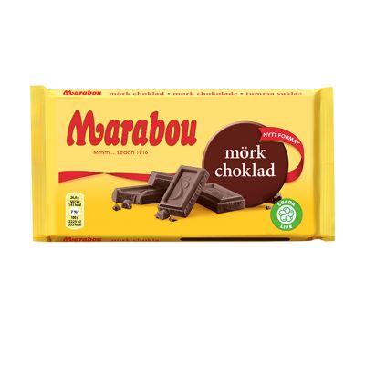 Marabou Mörk Choklad, 185 g