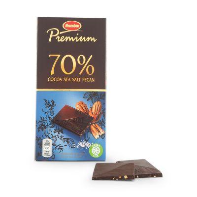 Marabou Premium 70% Seasalt & Pecan, 100 g
