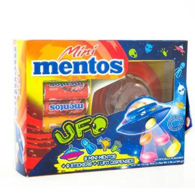 Mentos Ufo Dispenser, 84 g