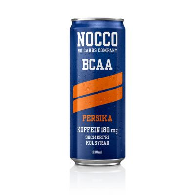 NOCCO BCAA Persika, 330 ml x24