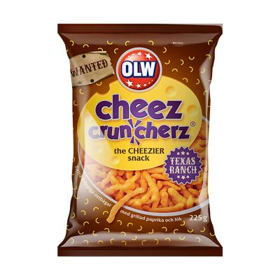 OLW Cheez Cruncherz Texas Ranch, 225 g
