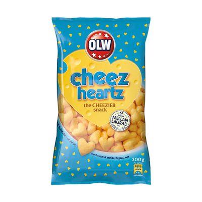 OLW Cheez Heartz, 200 g