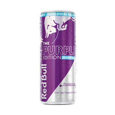 Red Bull Purple Acai Sockerfri 12x 250 ml