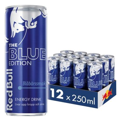 Red Bull Blue 12-pack, 3000 ml