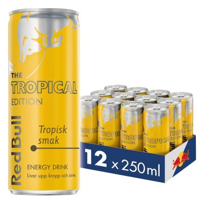 Red Bull Tropical 12-pack, 3000 ml