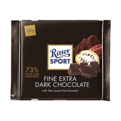 Ritter Sport Fine Extra Dark, 100g