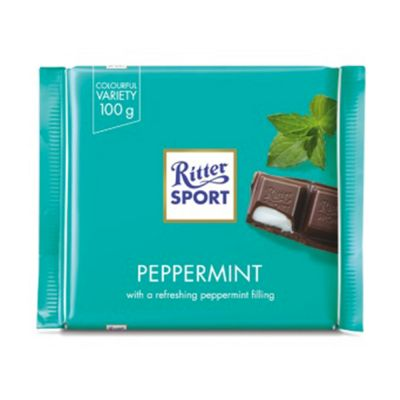 Ritter Sport Pepparmint, 100 g