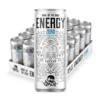 Skull Energy Zero, 250 ml x24