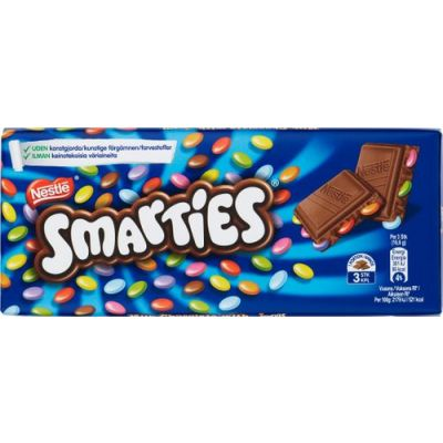 Smarties Chokladkaka, 100 g
