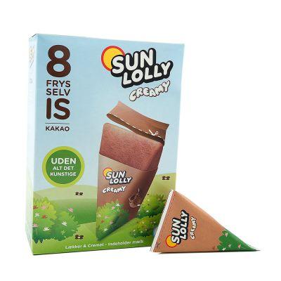 Sun Lolly Creamy Cocoa, 65 g x8