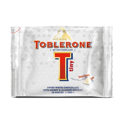 Toblerone White Mini Bag, 200 g