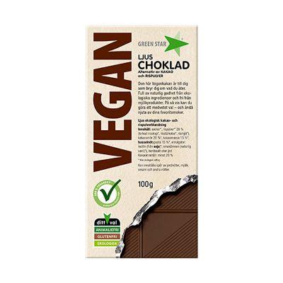 Vegan Choklad, 100 g