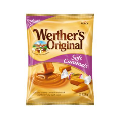 Werther's Soft Caramels, 125 g