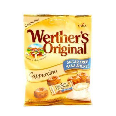 Werther's Cappuccino  Sockerfri, 70 g