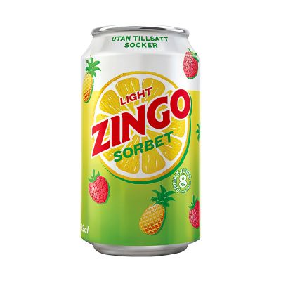 Zingo Light Sorbet, 330 ml x24
